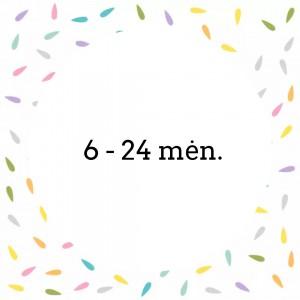 6 - 24 mėn.